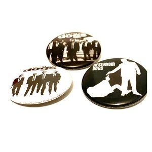 Reservoir Dog pins 2001